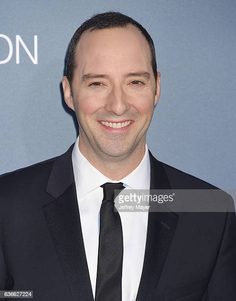 Actor Tony Hale arrives at The 22nd Annual Critics' Choice Awards at Barker Hangar on December 11 2016 in Santa Monica California