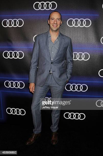 Actor Tony Hale arrives at the Audi Emmy Week Celebration at Cecconi's Restaurant on August 21 2014 in Los Angeles California