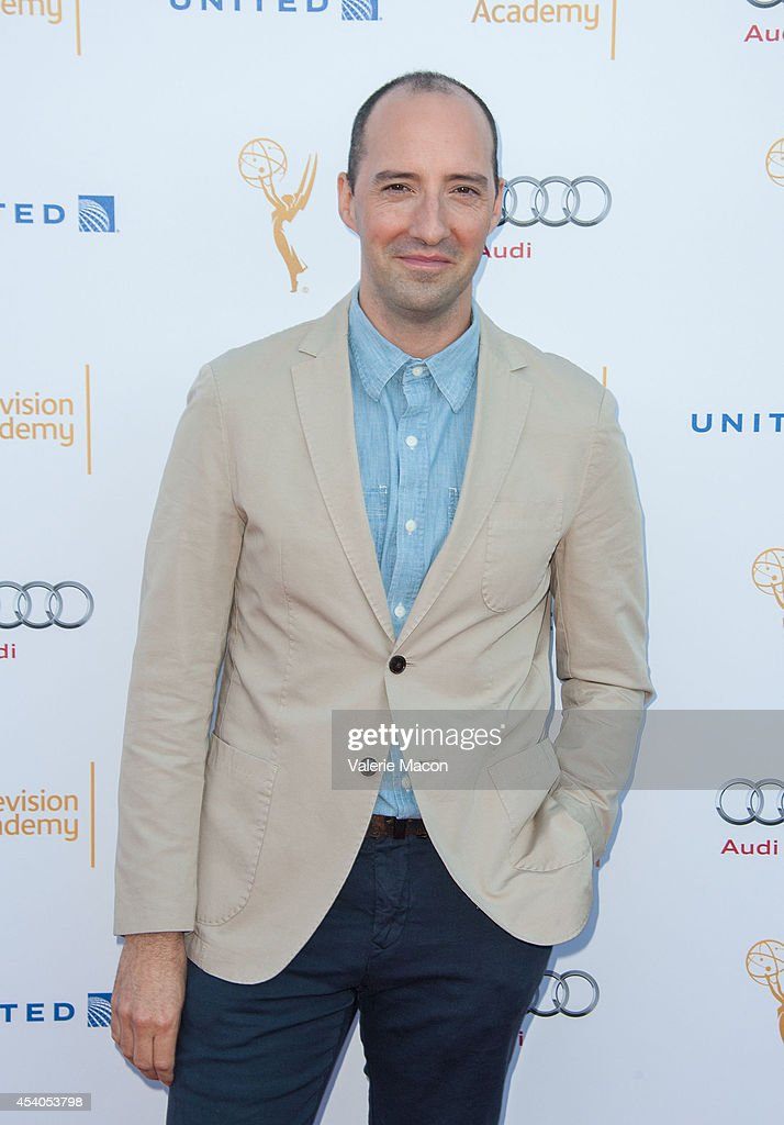 Actor <a gi-track='captionPersonalityLinkClicked' href=/galleries/search?phrase=Tony+Hale&family=editorial&specificpeople=745565 ng-click='$event.stopPropagation()'>Tony Hale</a> arrives at the Television Academy's 66th Annual Emmy Awards Performers Nominee Reception at Spectra by Wolfgang Puck at the Pacific Design Center on August 23, 2014 in West Hollywood, California.