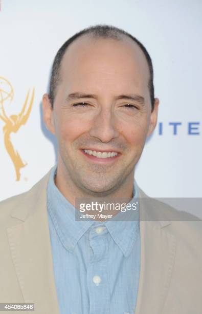 Actor Tony Hale arrives at the Television Academy's 66th Emmy Awards Performance Nominee Reception at the Pacific Design Center on Saturday Aug 23 in...