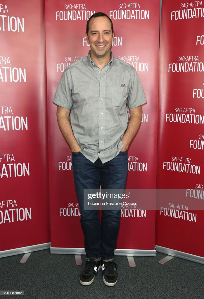 Actor Tony Hale at SAG-AFTRA Foundation's Conversations With 'Brave New Jersey' at SAG-AFTRA Foundation Screening Room on July 10, 2017 in Los Angeles, California.