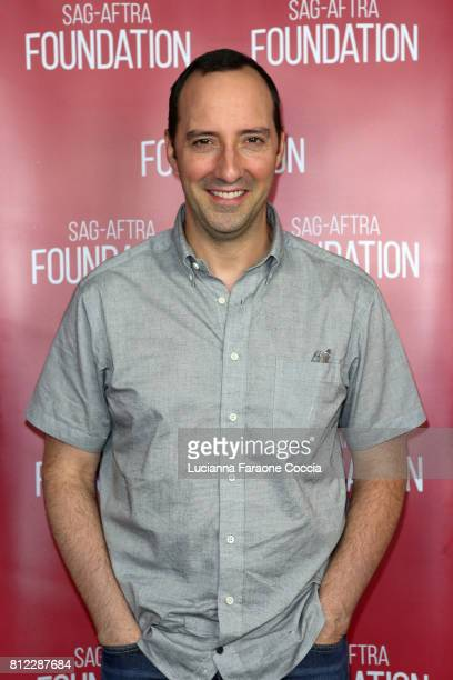 Actor Tony Hale at SAGAFTRA Foundation's Conversations With 'Brave New Jersey' at SAGAFTRA Foundation Screening Room on July 10 2017 in Los Angeles...