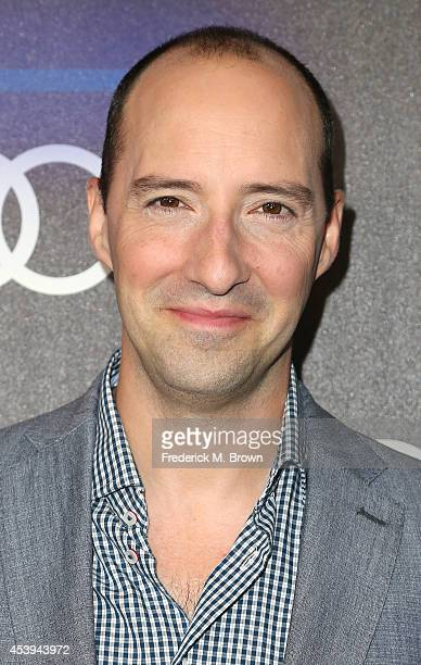 Actor Tony Hale attends Audi Celebrates Emmys' Week 2014 at Cecconi's Restaurant on August 21 2014 in Los Angeles California