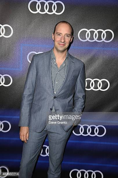 Actor Tony Hale attends Audi Emmy Week Celebration at Cecconi's Restaurant on August 21 2014 in Los Angeles California