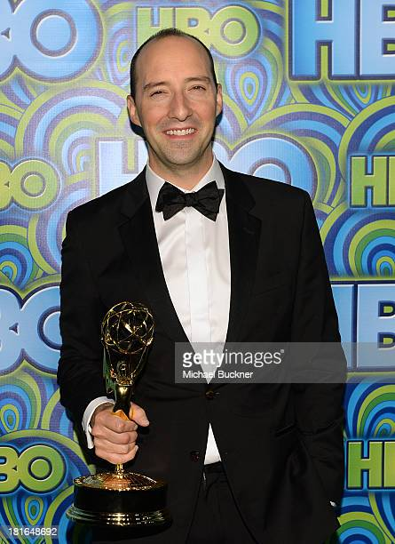 Actor Tony Hale attends HBO's Annual Primetime Emmy Awards Post Award Reception at The Plaza at the Pacific Design Center on September 22 2013 in Los...
