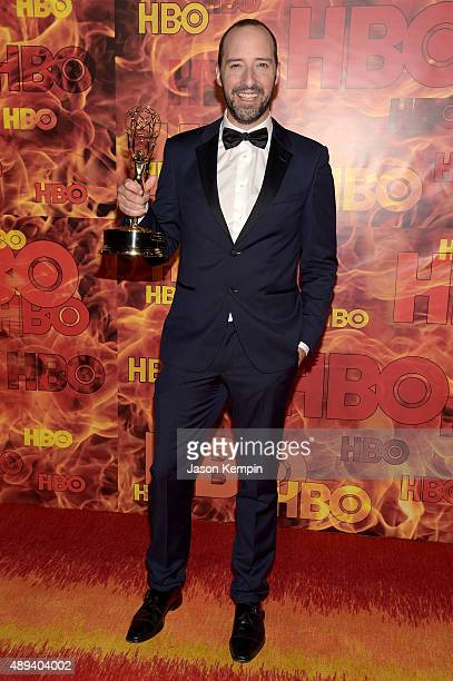 Actor Tony Hale attends HBO's Official 2015 Emmy After Party at The Plaza at the Pacific Design Center on September 20 2015 in Los Angeles California