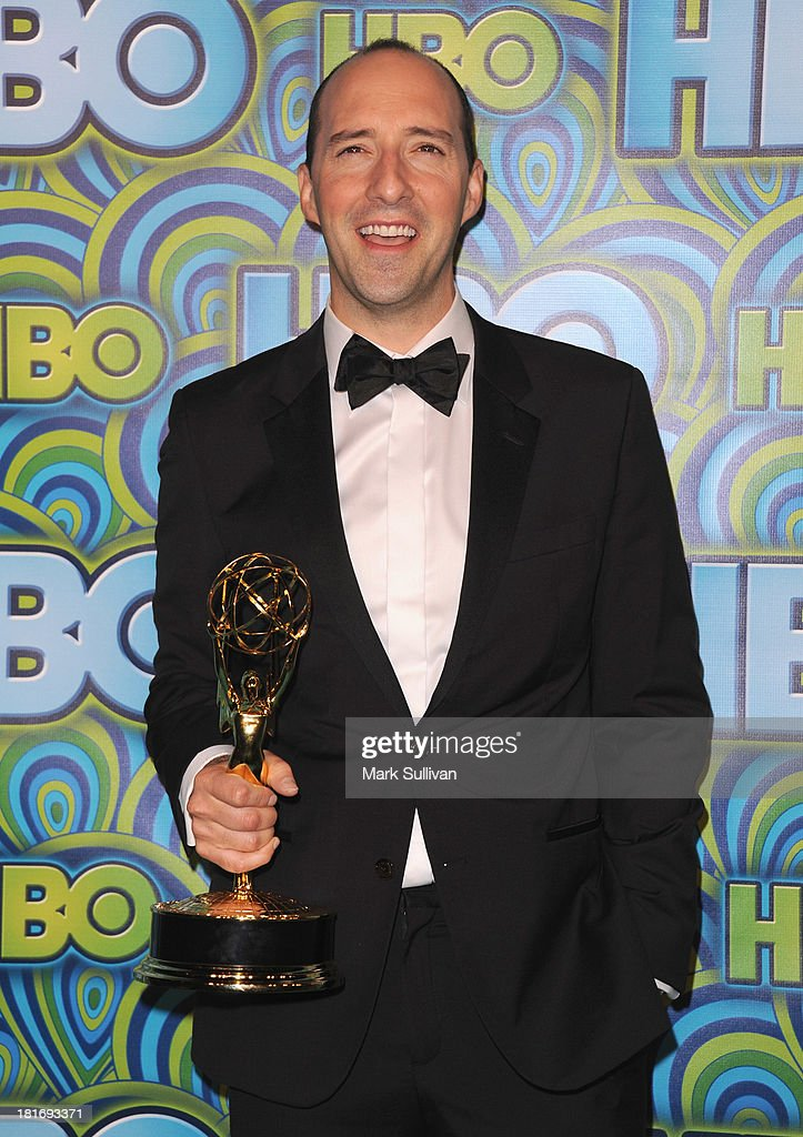 Actor <a gi-track='captionPersonalityLinkClicked' href=/galleries/search?phrase=Tony+Hale&family=editorial&specificpeople=745565 ng-click='$event.stopPropagation()'>Tony Hale</a> attends HBO's Post Emmy Awards party at Pacific Design Center on September 22, 2013 in West Hollywood, California.