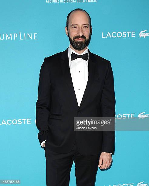 Actor Tony Hale attends the 17th Costume Designers Guild Awards at The Beverly Hilton Hotel on February 17 2015 in Beverly Hills California