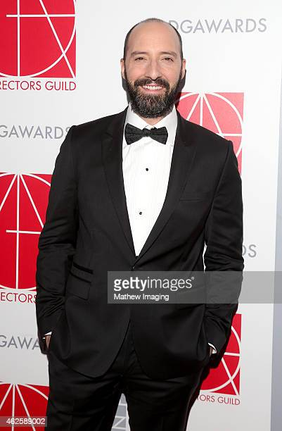 Actor Tony Hale attends the 19th Annual Art Directors Guild Excellence In Production Design Awards at The Beverly Hilton Hotel on January 31 2015 in...