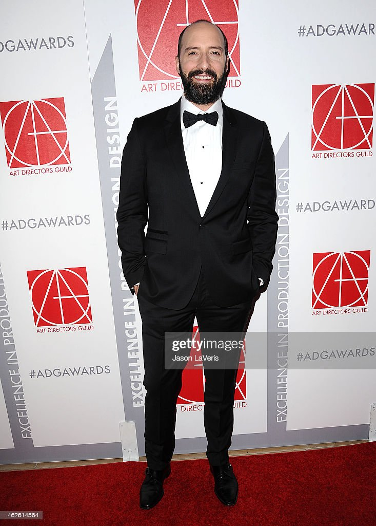 Actor Tony Hale attends the 19th annual Art Directors Guild Excellence In Production Design Awards at The Beverly Hilton Hotel on January 31, 2015 in Beverly Hills, California.