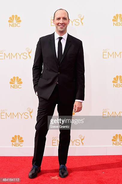 Actor Tony Hale attends the 66th Annual Primetime Emmy Awards held at Nokia Theatre LA Live on August 25 2014 in Los Angeles California