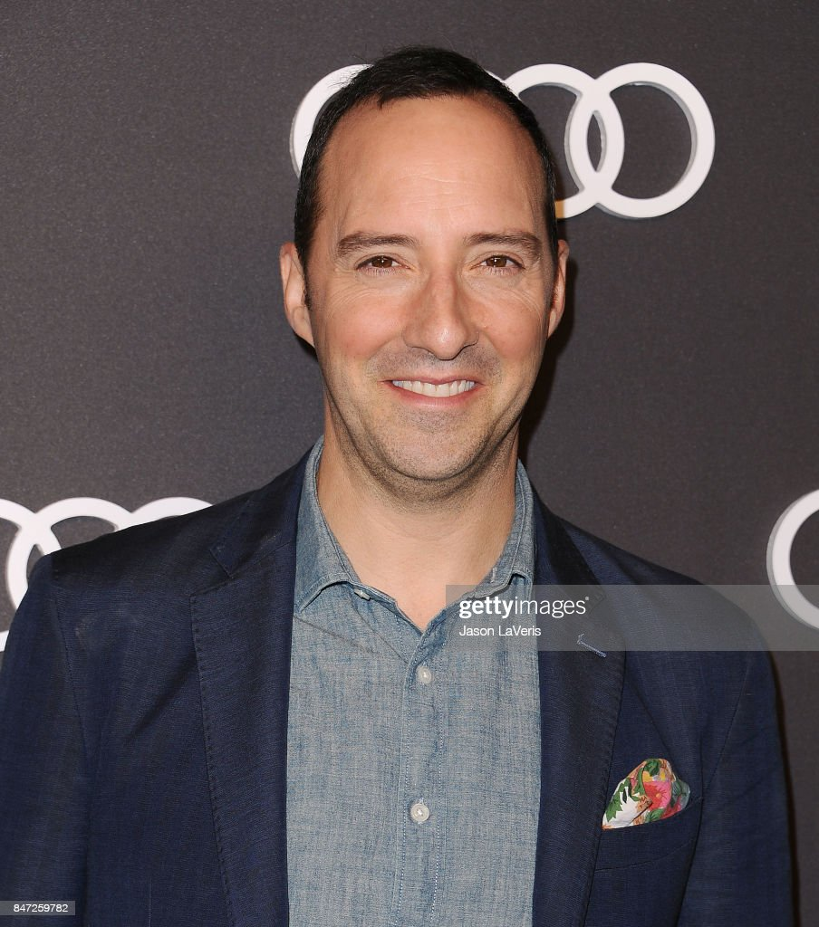 Actor Tony Hale attends the Audi celebration for the 69th Emmys at The Highlight Room at the Dream Hollywood on September 14, 2017 in Hollywood, California.
