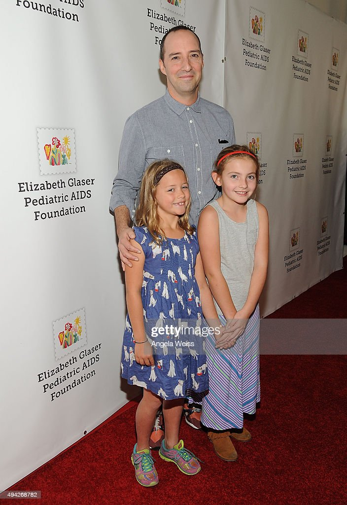 Actor Tony Hale attends the Elizabeth Glaser Pediatric AIDS Foundation's 26th Annual A Time For Heroes Family Festival at Smashbox Studios on October...