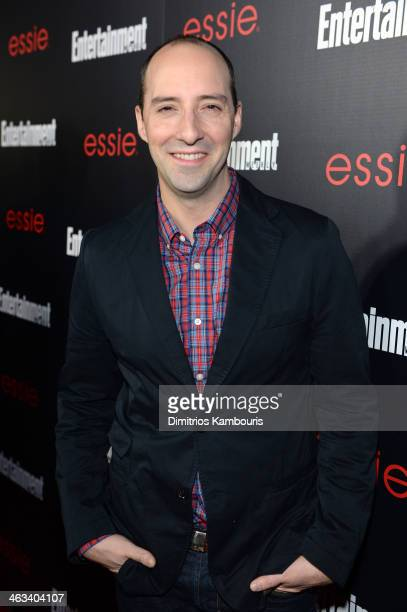 Actor Tony Hale attends the Entertainment Weekly celebration honoring this year's SAG Awards nominees sponsored by TNT TBS and essie at Chateau...