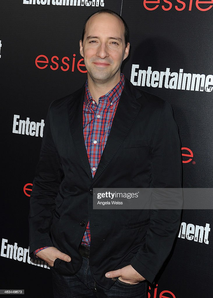 Actor <a gi-track='captionPersonalityLinkClicked' href=/galleries/search?phrase=Tony+Hale&family=editorial&specificpeople=745565 ng-click='$event.stopPropagation()'>Tony Hale</a> attends the Entertainment Weekly celebration honoring this year's SAG Awards nominees sponsored by TNT & TBS and essie at Chateau Marmont on January 17, 2014 in Los Angeles, California.