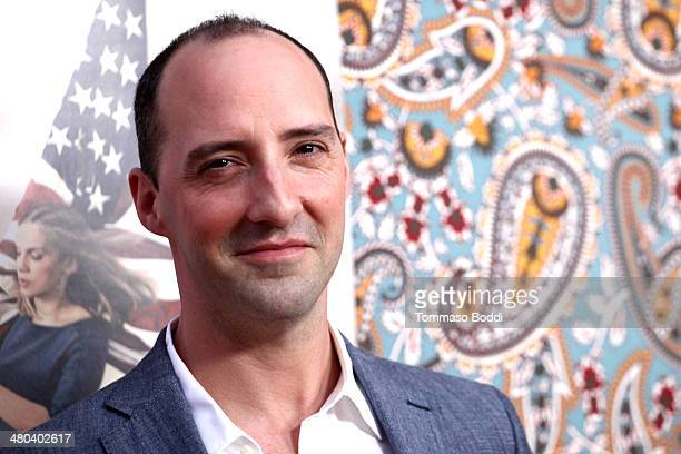 Actor Tony Hale attends the premiere of HBO's 'Veep' 3rd season held at Paramount Studios on March 24 2014 in Hollywood California