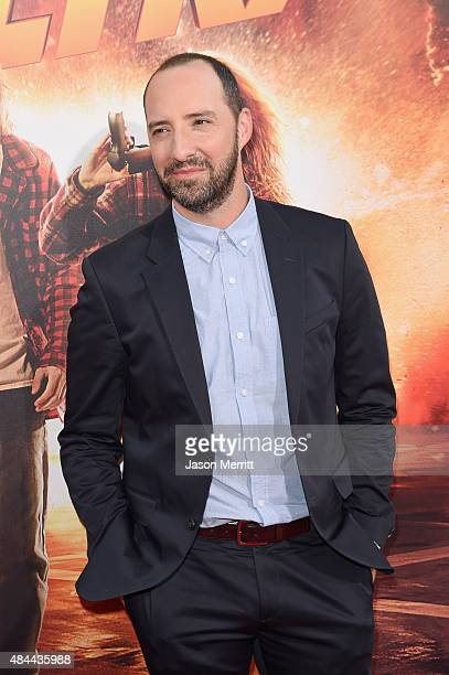 Actor Tony Hale attends the premiere of Lionsgate's 'American Ultra' at Ace Theater Downtown LA on August 18 2015 in Los Angeles California
