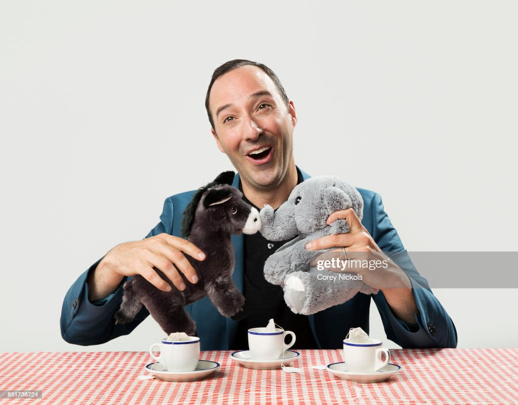 Actor Tony Hale is photographed for The Wrap on July 31, 2017 in Santa Monica, California.