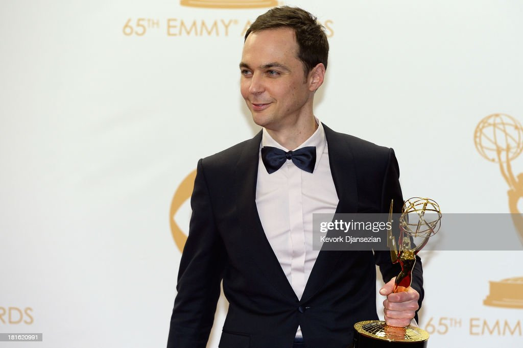 Actor Tony Hale, winner of the Best Supporting Actor in a Comedy Series Award for 'Veep' poses in the press room during the 65th Annual Primetime Emmy Awards held at Nokia Theatre L.A. Live on September 22, 2013 in Los Angeles, California.