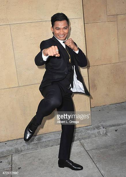 Actor Tony Jaa arrives for the premiere Of 'Skin Trade' held at the Egyptian Theatre on May 6 2015 in Hollywood California