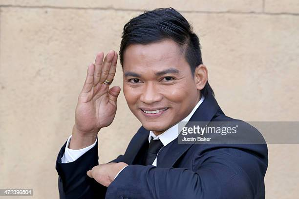 Actor Tony Jaa attends 'Skin Trade' Los Angeles Premiere at the Egyptian Theatre on May 6 2015 in Hollywood California