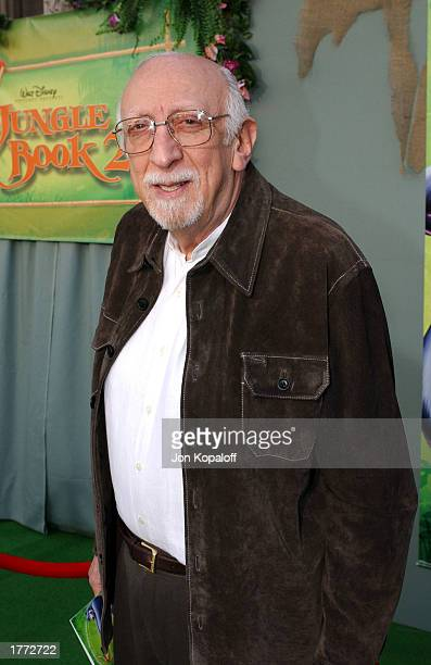 Actor Tony Jay attends the premiere of 'The Jungle Book 2' at the El Capitan Theater on February 9 2003 in Hollywood California