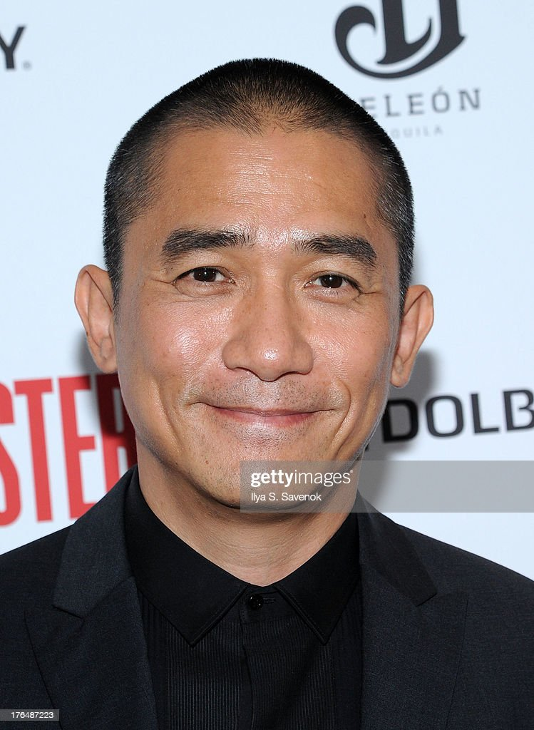 Actor Tony Leung attends 'The Grandmaster' New York Screening at Regal E-Walk Stadium 13 on August 13, 2013 in New York City.