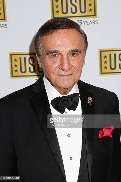 Actor Tony Lo Bianco attends the USO 75th Anniversary Armed Forces Gala Gold Medal Dinner at Marriott Marquis Times Square on December 13 2016 in New...