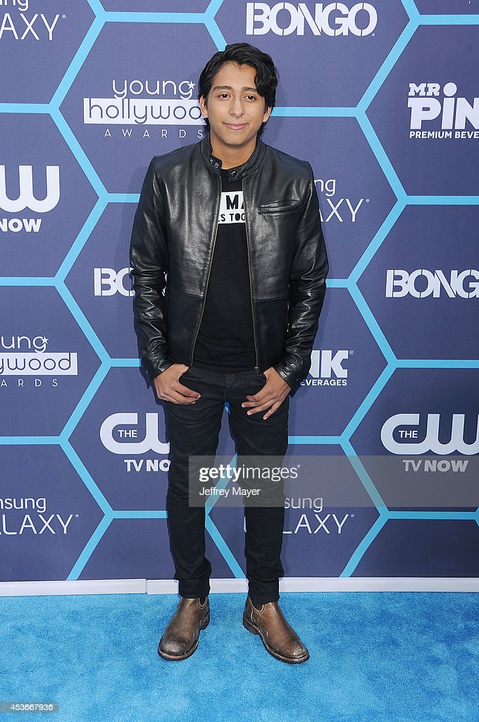Actor <a gi-track='captionPersonalityLinkClicked' href=/galleries/search?phrase=Tony+Revolori&family=editorial&specificpeople=12456874 ng-click='$event.stopPropagation()'>Tony Revolori</a> arrives at the 16th Annual Young Hollywood Awards at The Wiltern on July 27, 2014 in Los Angeles, California.