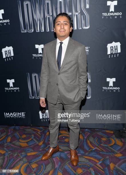 Actor Tony Revolori attends the Los Angeles special screening of BH Tilt and Imagine's 'Lowriders' at LA LIVE on May 9 2017 in Los Angeles California
