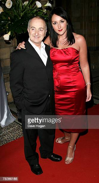 Actor Tony Robinson and his guest Louise Hobbs arrives at the Inaugural British Academy Film and Television Arts Nominees Reception hosted by Sky at...