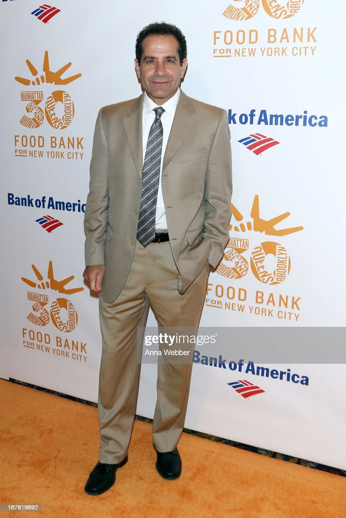 Actor Tony Shalhoub arrives at the Food Bank For New York City's Can-Do Awards celebrating 30 years of service to NYC on April 30, 2013 in New York City.