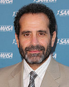 Actor Tony Shalhoub attends SAMHSA's 2014 Voice Awards at Royce Hall at UCLA on August 13 2014 in Westwood California