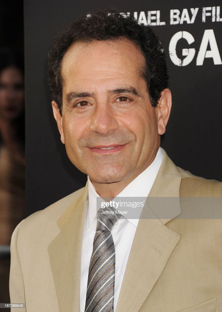 Actor Tony Shalhoub attends the 'Pain & Gain' premiere held at TCL Chinese Theatre on April 22, 2013 in Hollywood, California.