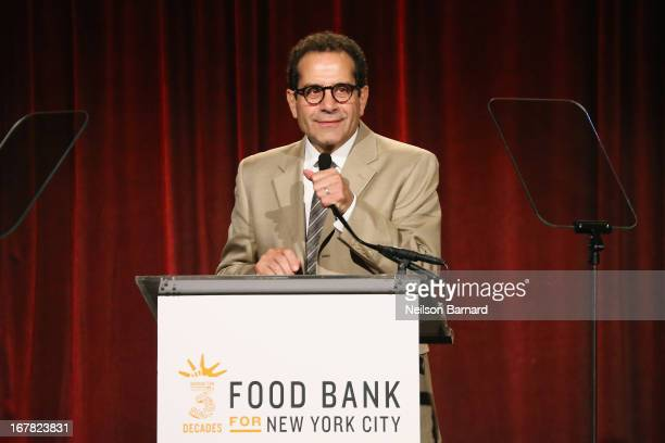 Actor Tony Shalhoub speaks onstage at the Food Bank For New York City's CanDo Awards celebrating 30 years of service to NYC on April 30 2013 in New...