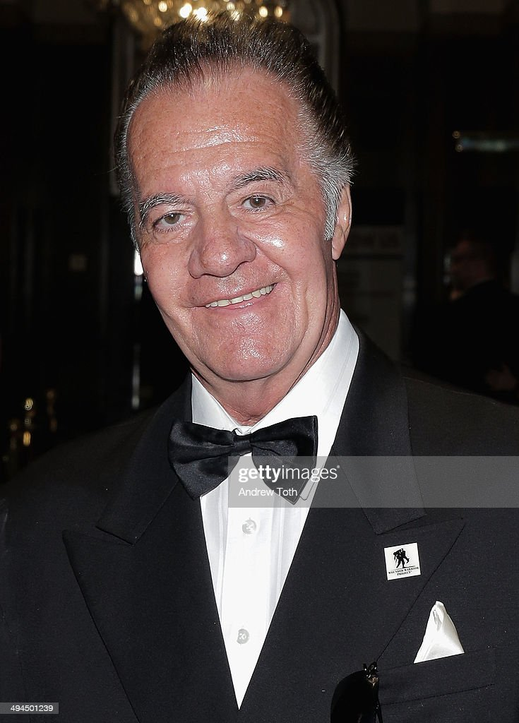 Actor <a gi-track='captionPersonalityLinkClicked' href=/galleries/search?phrase=Tony+Sirico&family=editorial&specificpeople=218067 ng-click='$event.stopPropagation()'>Tony Sirico</a> attends the 9th annual Wounded Warrior Project Courage Awards & Benefit Dinner at The Waldorf=Astoria on May 29, 2014 in New York City.