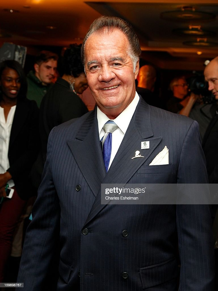 Actor Tony Sirico attends the Garden of Dreams Foundation press conference at Madison Square Garden on January 22, 2013 in New York City.