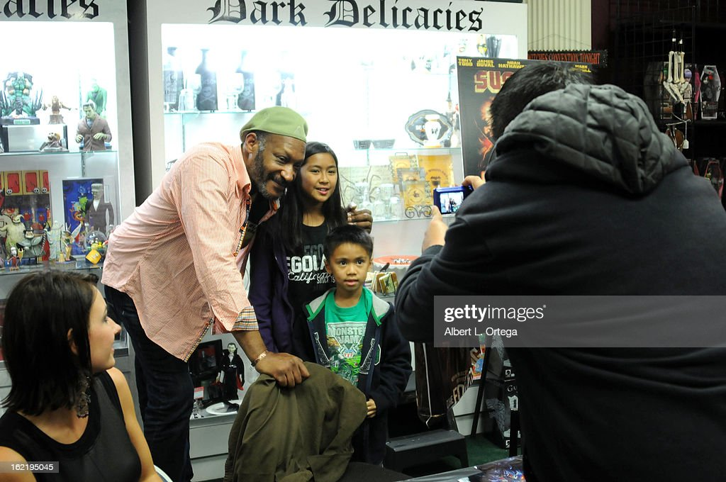 Actor Tony Todd participates in the Blu-ray And DVD Release Party For Magnolia Home Entertainment's 'Sushi Girl' held at Dark Delicacies Bookstore on February 19, 2013 in Burbank, California.