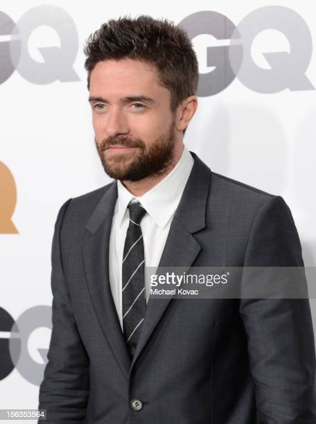 Actor Topher Grace arrives at the GQ Men of the Year Party at Chateau Marmont on November 13 2012 in Los Angeles California