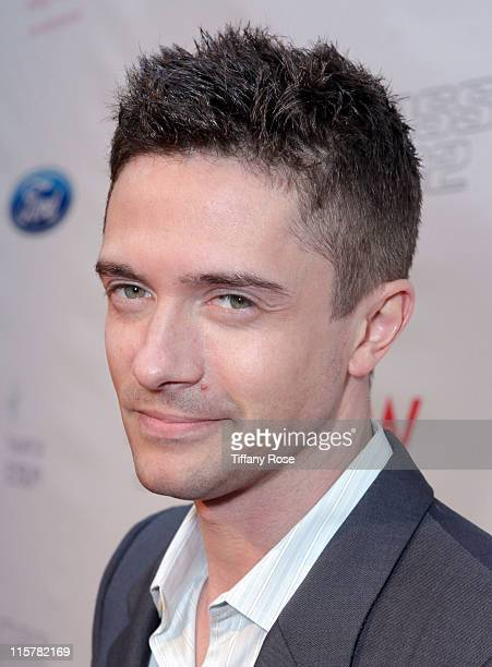 Actor Topher Grace attends The Art of Elysium Celebrates Return of Ford Mustang Boss at The Residences at W Hollywood on June 9 2011 in Hollywood...