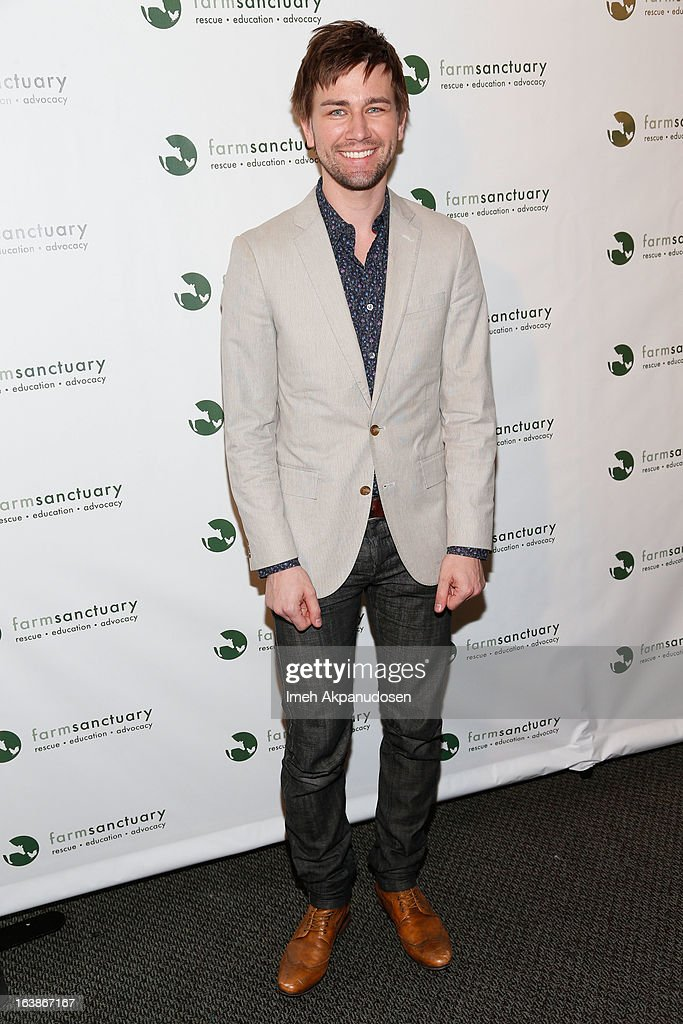 Actor Torrance Coombs attends the Fun For Animals Celebrity Poker Tournament & Cocktail Party at Petersen Automotive Museum on March 16, 2013 in Los Angeles, California.