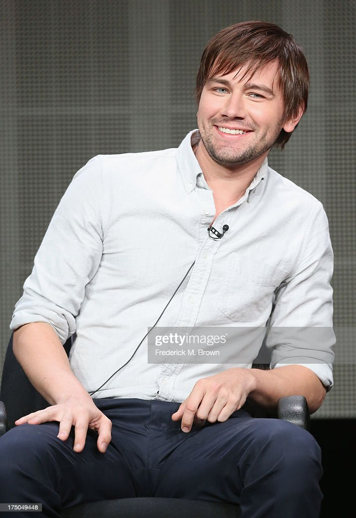 Actor Torrance Coombs speaks onstage during the 'Reign' panel discussion at the CBS, Showtime and The CW portion of the 2013 Summer Television Critics Association tour at the Beverly Hilton Hotel on July 30, 2013 in Beverly Hills, California.
