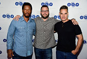 Actor Tory Kittles executive producer Ryan Condal and actor Adrian Pasdar attend Universal Cable Productions ComicCon Celebration during ComicCon...