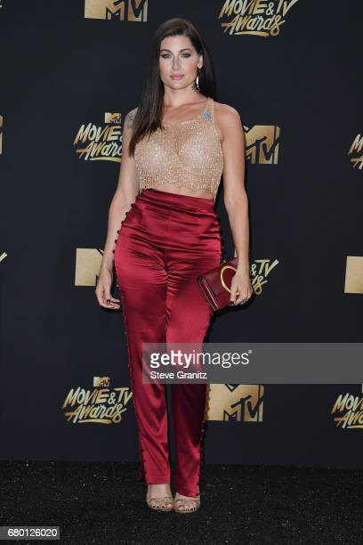 Actor Trace Lysette attends the 2017 MTV Movie and TV Awards at The Shrine Auditorium on May 7 2017 in Los Angeles California