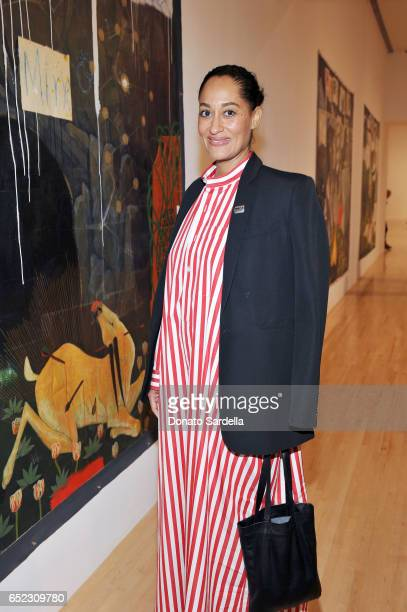 Actor Tracee Ellis Ross attends MOCA's Leadership Circle and Members' Opening of Kerry aJames Marshall Mastry at MOCA Grand Avenue on March 11 2017...