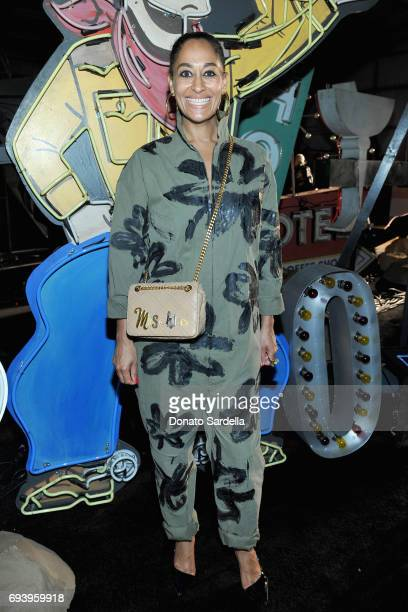 Actor Tracee Ellis Ross attends Moschino Spring/Summer 18 Menswear and Women's Resort Collection at Milk Studios on June 8 2017 in Hollywood...