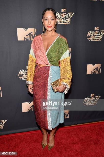 Actor Tracee Ellis Ross attends the 2017 MTV Movie And TV Awards at The Shrine Auditorium on May 7 2017 in Los Angeles California
