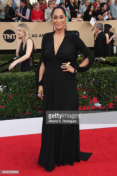 Actor Tracee Ellis Ross attends the 23rd Annual Screen Actors Guild Awards at The Shrine Expo Hall on January 29 2017 in Los Angeles California