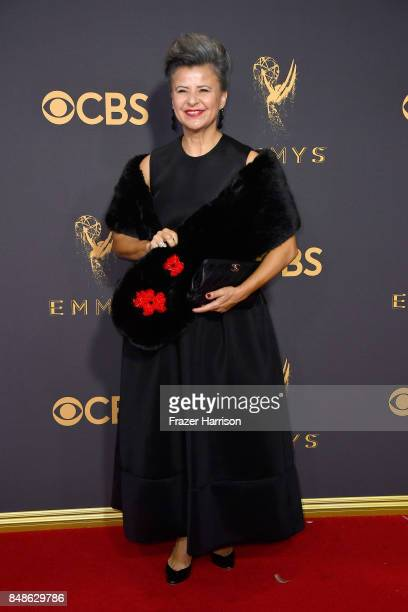Actor Tracey Ullman attends the 69th Annual Primetime Emmy Awards at Microsoft Theater on September 17 2017 in Los Angeles California