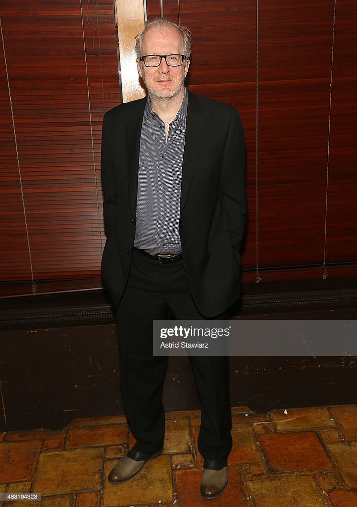 Actor <a gi-track='captionPersonalityLinkClicked' href=/galleries/search?phrase=Tracy+Letts&family=editorial&specificpeople=4694707 ng-click='$event.stopPropagation()'>Tracy Letts</a> attends 'The Realistic Joneses' opening night after party at The Redeye Grill on April 6, 2014 in New York City.